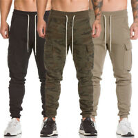 New Mens Casual Military Army Cargo Camo Combat Work Pants Trousers Pant M-3XL