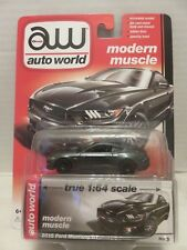 2015 Auto World Ford Mustang GT Dark Green 6 Modern Muscle Die-Cast Release 4