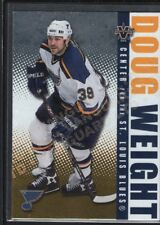 DOUG WEIGHT 2002/03 VANGUARD #84 LTD PARALLEL BLUES SP #036/450