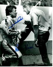 BOBBY UNSER and MARIO ANDRETTI Signed INDY Photo w/ Hologram COA