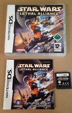Star Wars Lethal Alliance Game For Ds Nintendo Complete & Boxed **99p UK P&P**