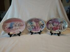 Prima Ballerinas Danbury Mint Set Of 3 with Stands.