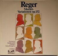 Reger Mozart-Variationen op. 132 Heinz Bongartz Eurodisc Stereo 80276 KK