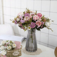 Artificial Silk Rose Flowers Wedding Home Party Deco Bouquet Fake Pe Foam Flower