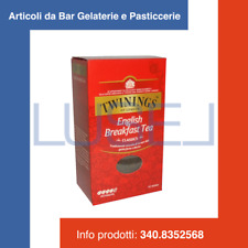 GR 200 ENGLISH BREAKFAST TEA TWININGS THE SFUSO MISCELA DI TE' NERO FORTE DECISO