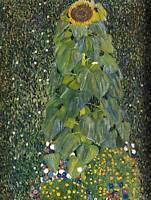 GUSTAV KLIMT THE SUNFLOWER 1907 OLD MASTER ART PAINTING PRINT POSTER 1174OM
