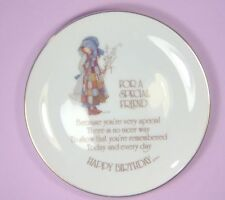 Vintage Holly Hobby Decrative Birthday Place For a Special Friend Made in Japan