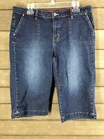 Westport 649 Blue Denim Shorts Women's 16