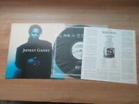 Jeffrey Gaines - Jeffrey Gaines 1992 Korea Promo LP Vinyl Insert