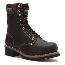 Men's Caterpillar Work Boots Logger 9'' ST Black Steel Toe P88033 Wide