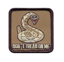 HOOK BACKING Abzeichen mit Hakenklett US DON/'T TREAD ON ME PATCH
