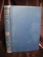 LEACHED OUTCROPS AS GUIDES TO COPPER ORE Locke 1926 HC Geology Prospecting Book