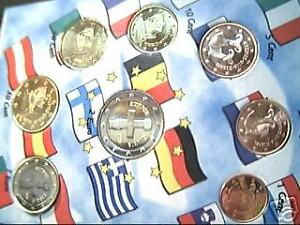 2009 CIPRO 8 monete 3,88 EURO chypre chyprus cyprus zypern Кипр