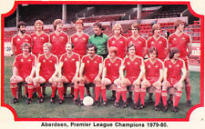 ABERDEEN FOOTBALL TEAM PHOTO>1979-80 SEASON