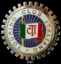 CAR GRILLE EMBLEM BADGES - ITALIAN TOURING  CLUB