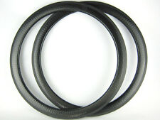 Dimple finish full carbon fiber bicycle rim 50mm clincher 25mm width