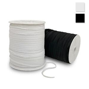 Elastico per mascherine 7 mm piatto per abbigliamento cucito abiti gonne 3624