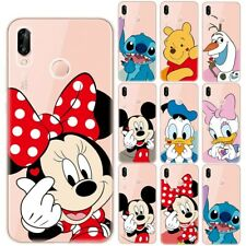 Disney Mickey Minnie Soft TPU Case Cover For Huawei P8 P9 P10 P20 P30 Lite