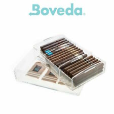 NEW Boveda Large Acrylic Humidor - With 3 x 60g 69% Humidification Controls
