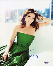 Tina Fey Signed PSA/DNA COA Sexy 8X10 Photo Auto Autographed Autograph Pose 6