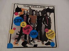 """The Hollies """"Stop In the Name of Love"""" PICTURE SLEEVE! MINT! RARE! ONLY ONE!!"""