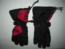 KOMBI Winter Snowboard Ski Gloves - Men's Size S - Red / Black