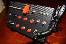 ALMAR SKRS Button Box urządzenie sterujące do gier ATS, ETS itp STACYJKA! CB !