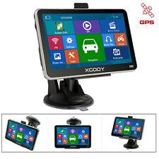5 Inch Car Truck GPS Navigation Bluetooth 8GB Sat Nav Free US EU Maps XGODY 560