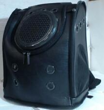 NEW Texsens Innovative Black Traveler Bubble Backpack Pet Carrier $116