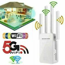 WiFi Extender Range Signal Booster Wireless Dual-Band Network Repeater 1200Mps