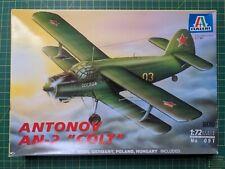 Italeri 091- Antonov AN-2  Colt 1/72 model kit