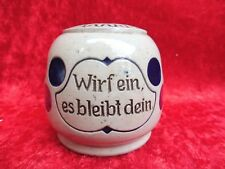 schöne ,alte Spardose__Rundspardose__deutsch um 1900 __original