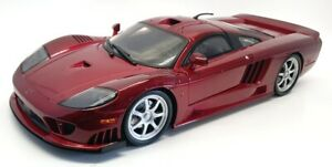 Motor Max 1/12 Scale  Diecast 73005 - Saleen S7 Twin Turbo - Red