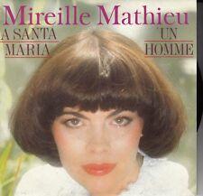"45 T SP MIREILLE MATHIEU ""A SANTA MARIA"""