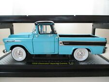 M2 MACHINES - AUTO-TRUCKS - 1958 CHEVROLET APACHE CAMEO PICKUP TRUCK - 1/24