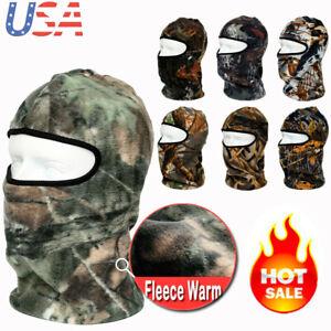 Balaclava Ski Mask Full Face Mask Windproof Hood for Cold Winter Weather Camo