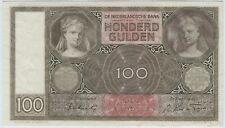 Niederlande / Netherlands 100 Gulden 1942/UNC.