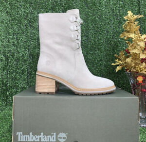 Timberland Women's Sienna High Waterproof Mid Suede Boots Size 8.5 New