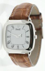 Piaget White Gold Watch 9928N
