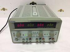 Protek 3305l Laboratory Dc Power Supply Triple Output Dual 0 30v5a Fixed 5v3a