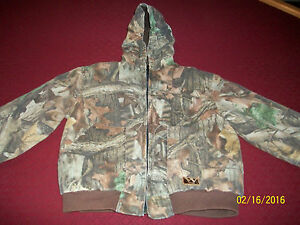 Walls Advantage Timber Insulted Hoodie Boy's - Youth Size 14 Regular