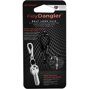 Keysmart Key Dangler Belt Loop Clip - Midnight Diamond