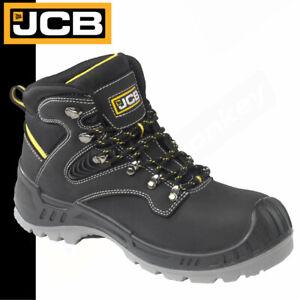 JCB Safety Boots - Composite Toe & Midsole - Water Resistant - Black - JCB Work