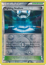 Fighting Stadium Uncommon Reverse Holo Pokemon Card XY3 Furious Fists 90/111
