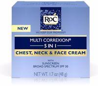 Roc Multi Correxion 5 In 1 Chest, Neck - Face Cream With SPF 30 1.7 oz
