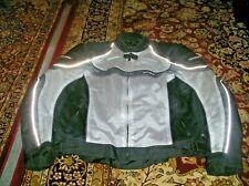 TOUR MASTER INTAKE Series 2 Men XXL Motorcycle Jacket Black Gray Padded W/ Liner