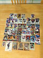 51 Colorado Avalanche Lot 3x5 Joe Sakic Peter Forsberg Bourque Roy Lemieux