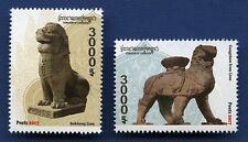 Kambodscha Cambodia 2017 Löwenfiguren Kulturerbe China Lions Postfrisch MNH