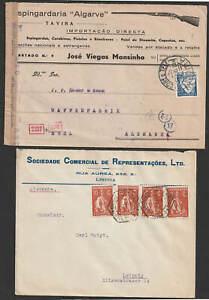 Portugal 6 Belege meist vor 1945