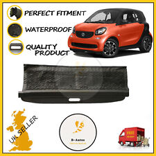 FITS NEW SMART FORTWO C453 2014-2019 PARCEL SHELF BOOT LOAD COVER BLACK